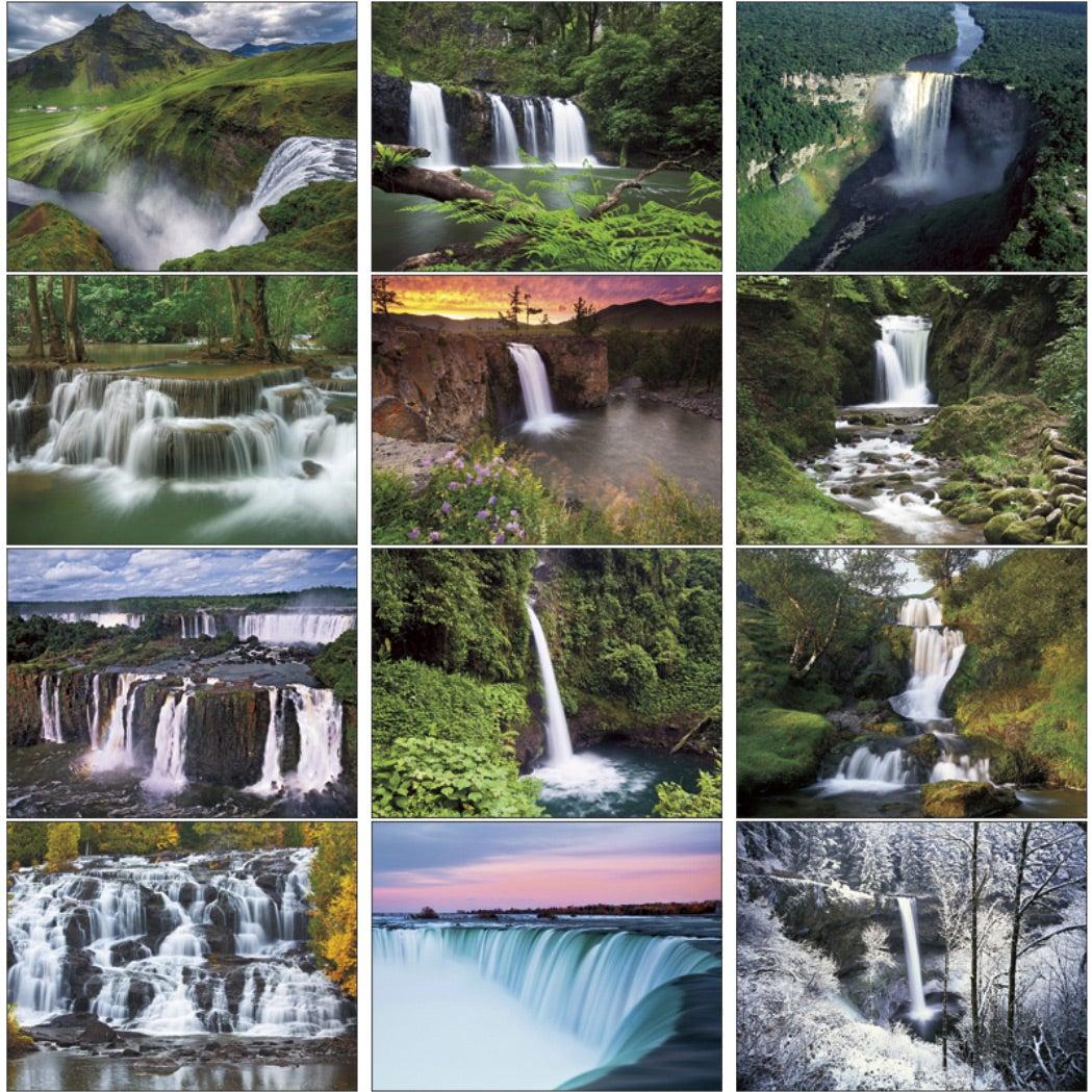 Waterfalls Appointment Calendar (2017) | Custom Calendars | 2.76 Ea.