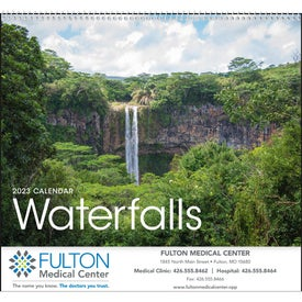 Waterfalls Appointment Calendar for Advertising