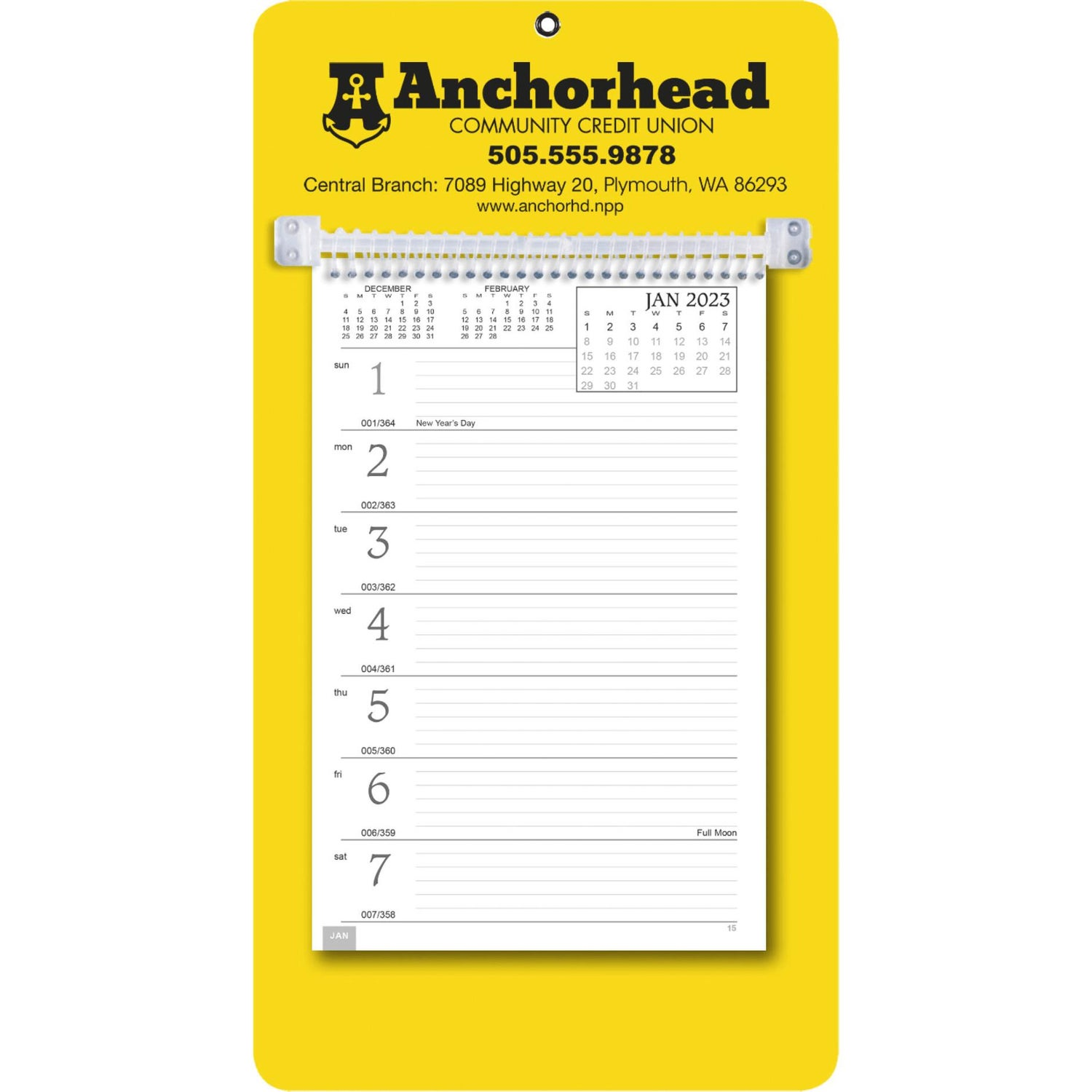 promotional 2019 weekly memo calendars with custom logo for 2 90 ea