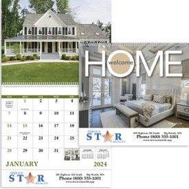 Welcome Home Spiral Calendar (2017)