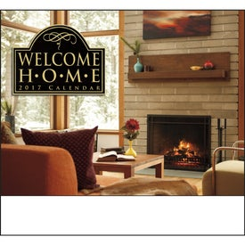 Welcome Home Stapled Calendar for Promotion