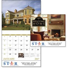 Advertising Welcome Home Stapled Calendar
