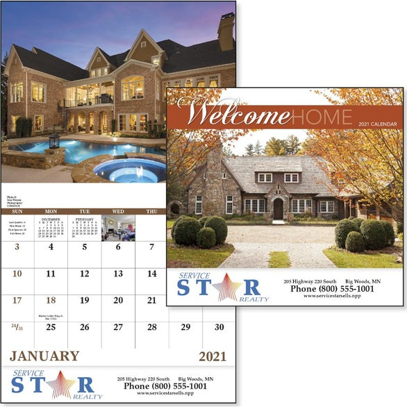 See Item Welcome Home Calendar