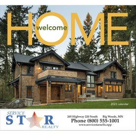 Welcome Home Calendar (2020, Stapled)