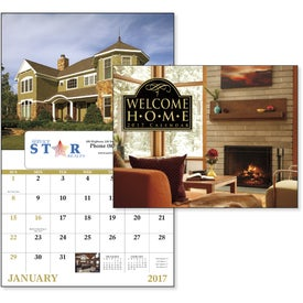 Advertising Welcome Home Window Calendar