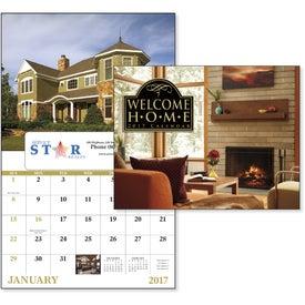 Advertising Welcome Home Window Calendar