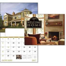 Welcome Home Window Calendar for Your Company