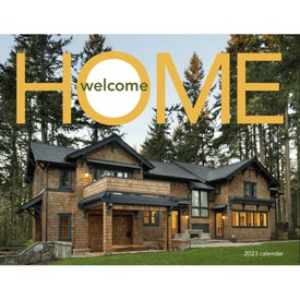 Printed Welcome Home Window Calendar