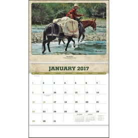 Western Art by Roy Lee Ward Appointment Calendar for Your Organization