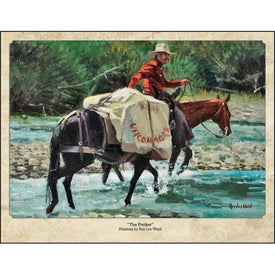 Western Art by Roy Lee Ward Appointment Calendar for Customization