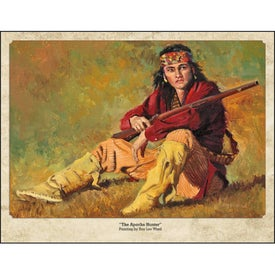 Promotional Western Art by Roy Lee Ward Appointment Calendar