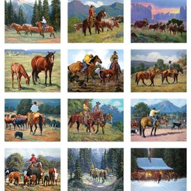Advertising Western Art Wall Calendar