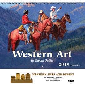 Logo Western Art Wall Calendar