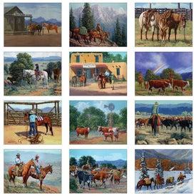 Company Western Art Wall Calendar