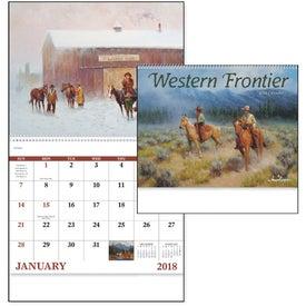 Company Western Frontier Spiral Calendar