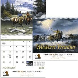 Western Frontier Spiral Calendar (2017)