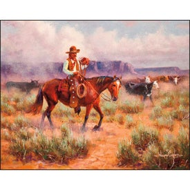 Company Western Frontier Stapled Calendar