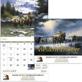 Western Frontier Stapled Calendar (2017)