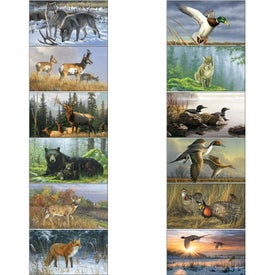 Wildlife Art Calendar by Hautman Brothers for Your Organization