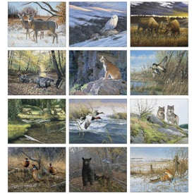 Company Wildlife Art Appointment Calendar
