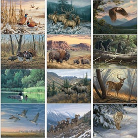 Advertising Wildlife Art Appointment Calendar