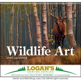 Wildlife Art Appointment Calendar (2020)