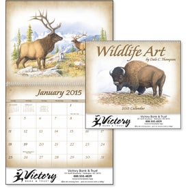 Printed Wildlife Art Calendar by Dale Thompson