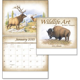 Personalized Wildlife Art Calendar by Dale Thompson