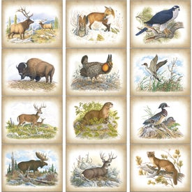 Company Wildlife Art Calendar by Dale Thompson