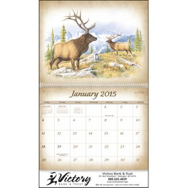 Custom Wildlife Art Calendar by Dale Thompson