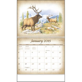 Wildlife Art Calendar by Dale Thompson Giveaways