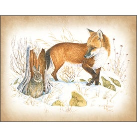 Wildlife Art Calendar by Dale Thompson for Advertising