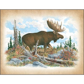 Advertising Wildlife Art Calendar by Dale Thompson