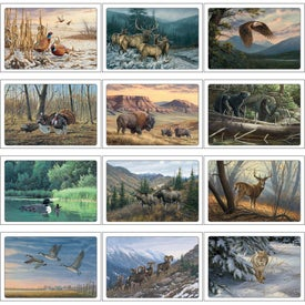 Wildlife Art Pocket Calendar Giveaways
