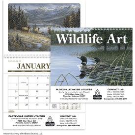 Advertising Wildlife Art Pocket Calendar