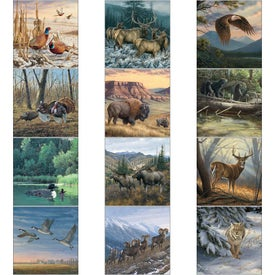Advertising Wildlife Art Executive Calendar