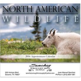North American Wildlife Stapled Wall Calendar