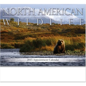 North American Wildlife Stapled Wall Calendar for Your Church