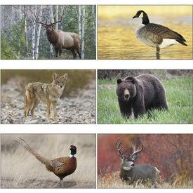Printed Wildlife Executive Calendar