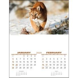 Wildlife Executive Calendar (2020)