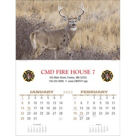 Wildlife Executive Calendar for Advertising
