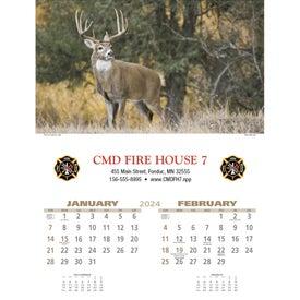 Wildlife Executive Calendar for Advertising