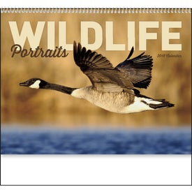 Customized Wildlife Portraits Spiral Calendar