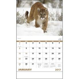 Wildlife Portraits Stapled Calendar for Your Church