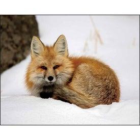 Promotional Wildlife Portraits Stapled Calendar