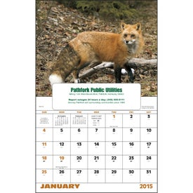 Company Wildlife Portraits Window Calendar