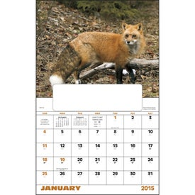 Wildlife Portraits Window Calendar for Marketing