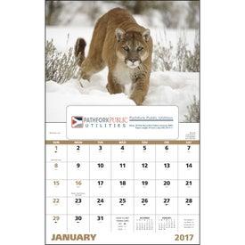 Advertising Wildlife Portraits Window Calendar