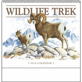 Wildlife Trek Spiral Calendar for Advertising