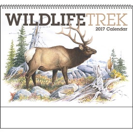Promotional Wildlife Trek Spiral Calendar